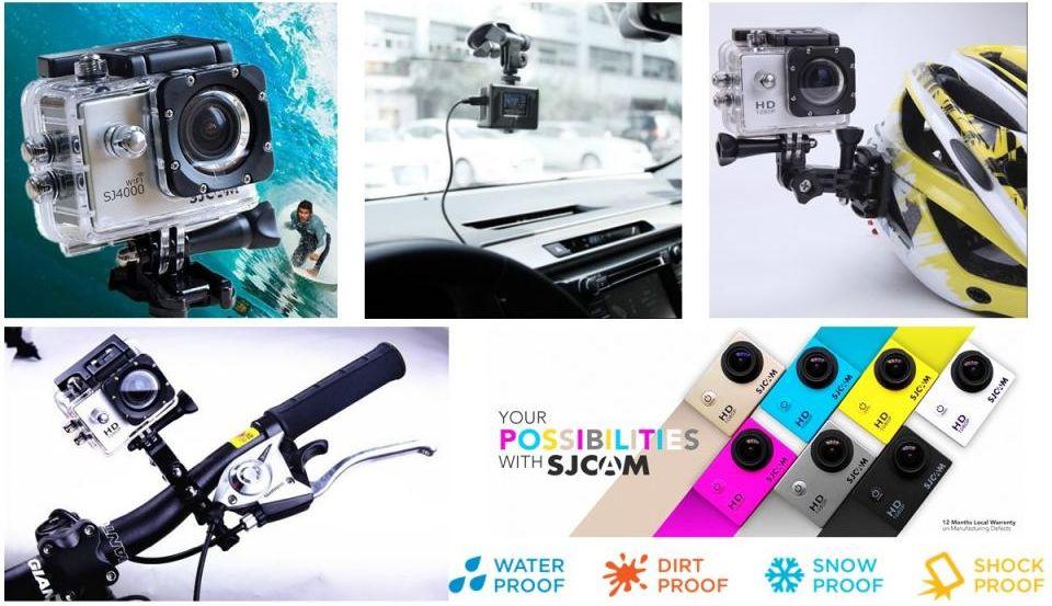 SJCAM sportkamerák és tartozékok teljes választéka elérhető a webshopban.