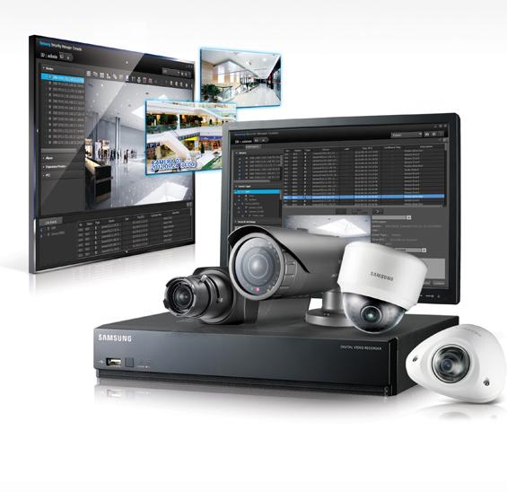 Samsung IP videó megfigyelő rendszer