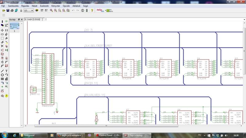 Elektronikai fejlesztés - áramkörök tervezése