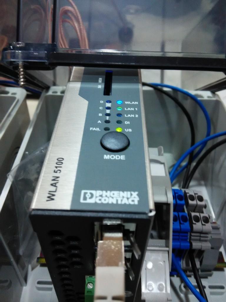 Phoenix Contact ipari Wifi access point